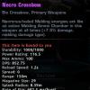 necro crossbow
